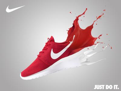 Nike Roshe | Red