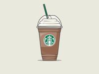 Starbucks Coffee   Mocha Frappuccino