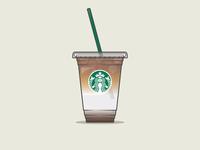 Starbucks Coffee | Iced Caramel Macchiato