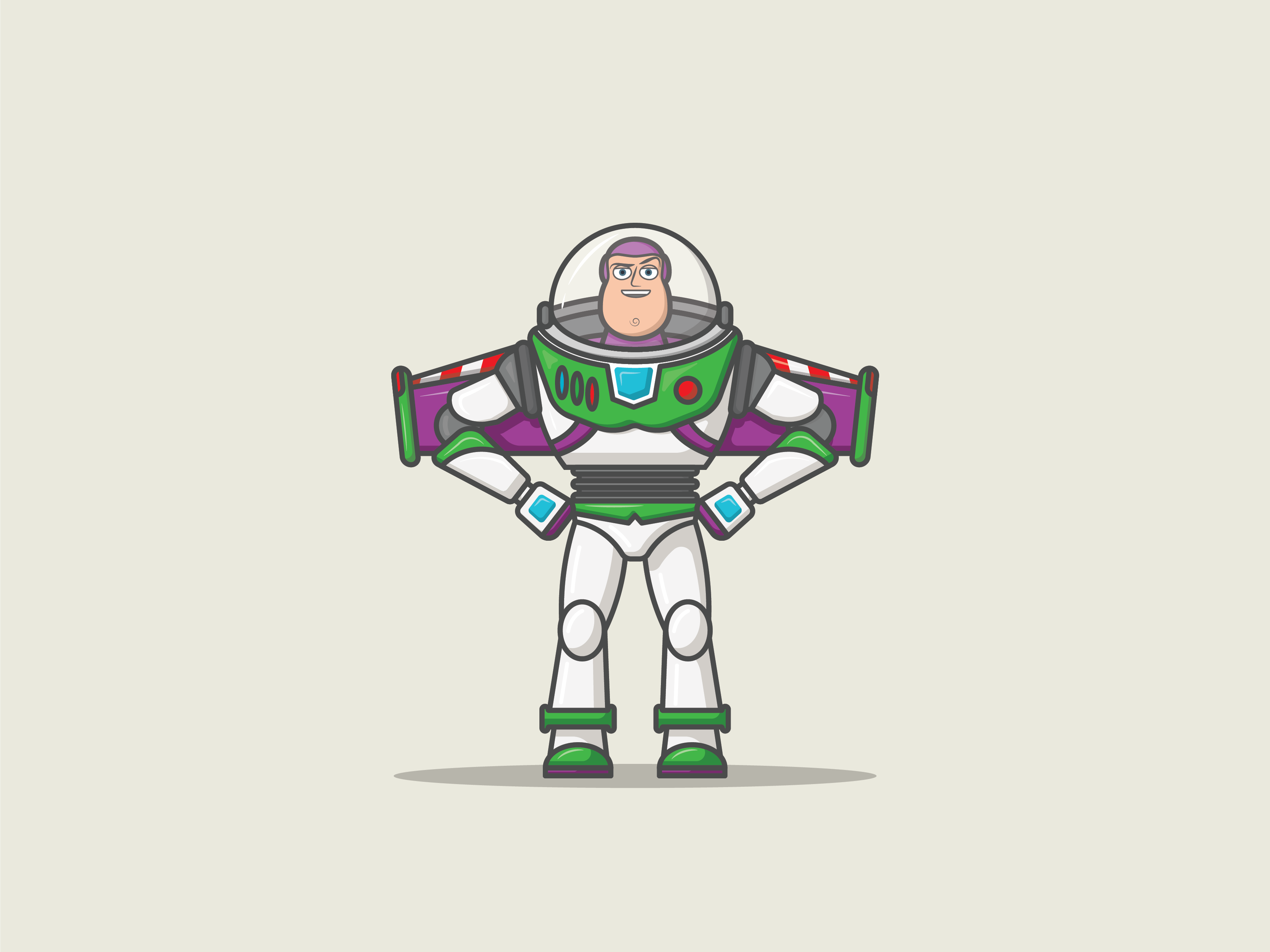 2019 Movie Releases | Toy Story 4 by Stephen Johnson on Dribbble