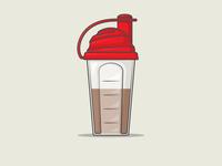 Running   Protein Shaker
