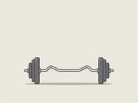 Gym   EZ curl bar