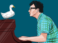 Dave Brubeck with Duck