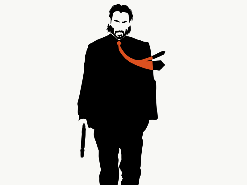 John Wick Once Killed A Man With A Fucking Pencil By Dave Linabury On Dribbble