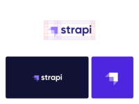 Strapi New Branding strapi design cms headless cms rocket strapi logotype logo identity brand design brand branding