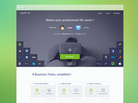 Sush.io new Website