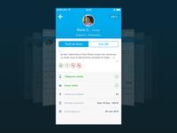 Blablacar IOS profile redesign