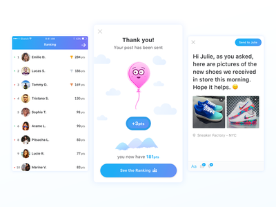 Pukka App Updates publisher content social congratulation ranking nike airmax ios app balloon mobile pukka