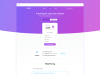 Pukka Pricing page