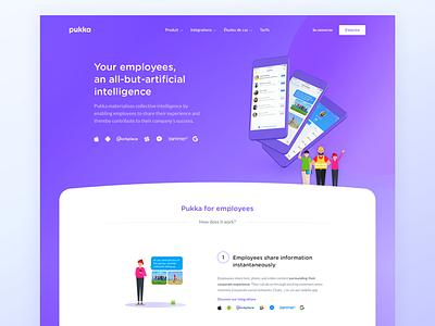 Pukka Contributor Page cdnc kevin collaboration communication intelligence collective contributor layout website pukka