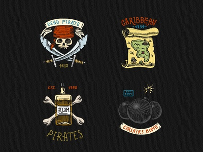 Badges or Logos for Pirate theme