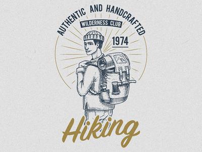 Hiking / Adventure t-shirt print