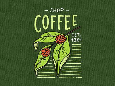 Coffee shop. badge / logo