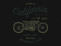 California clothing co. Motorcycle club