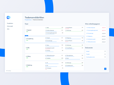 Collaboration tool for real estate development projects web app ux design elements interface design app minimalistic ux ui system tool software project management tool project management modern interface interaction design design dashboad application