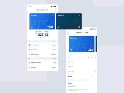 Fintech app design transaction bank app accounts wallet mobile app gradient ux ui ios clean modern fintech bank mobile iphone application credit card finance cards app