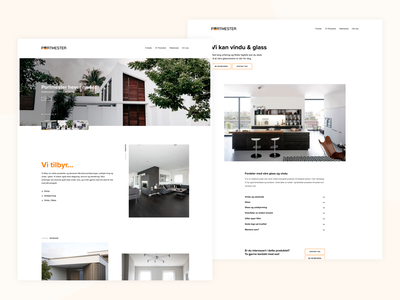 Portmester ecommerce web design ux ui real estate house interior fashion nordic norwegian minimalistic interface design interface modern negative space design clean interaction design