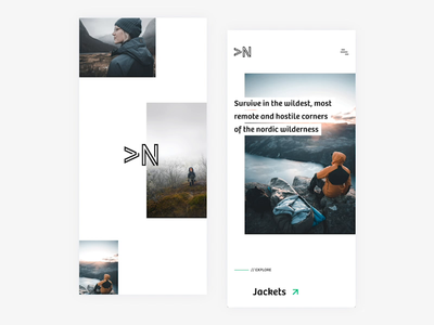 Minimalistic E-tail application concept app design animation prototype transition etail ecommerce gif app application interface minimalistic norwegian design clean modern ux ui interaction design madewithadobexd