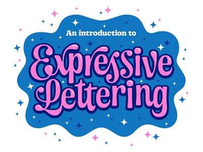Expressive Lettering Workshop! sparkle highlight expressive drawing overprint riso charlotte workshop lettering