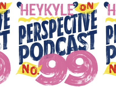 Perspective Podcast 99 lettering artist interview podcast type paper sign grocery store sans texture dry brush brush sign writing sign painting lettering