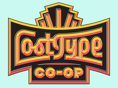 Lost Type Bevel expressive branding logotype script bevel lost type lettering
