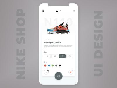 Nike Store UI