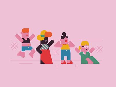 FEST. vector music festival design character