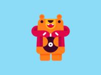 Friend of B-Bear.