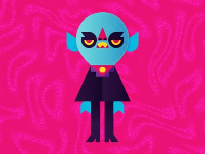 Orlok. count orlok character design nosferatu vampire illustration halloween