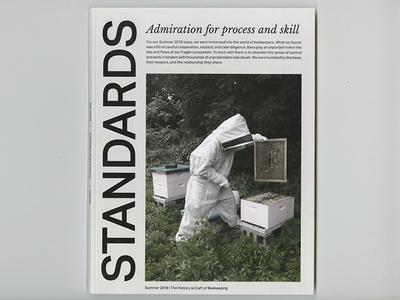 STANDARDS Magazine Cover