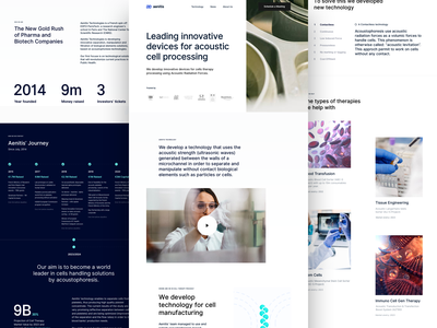 Aenitis Technologies ux ui ux design product design bazen agency clean ui clean design medical website design medical website medical design brnading bradning barnding branding design medical app user experience userinterface home page design home page ui homepage