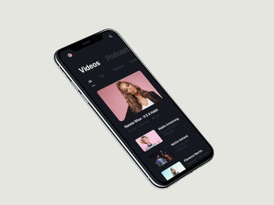 Music App Animation