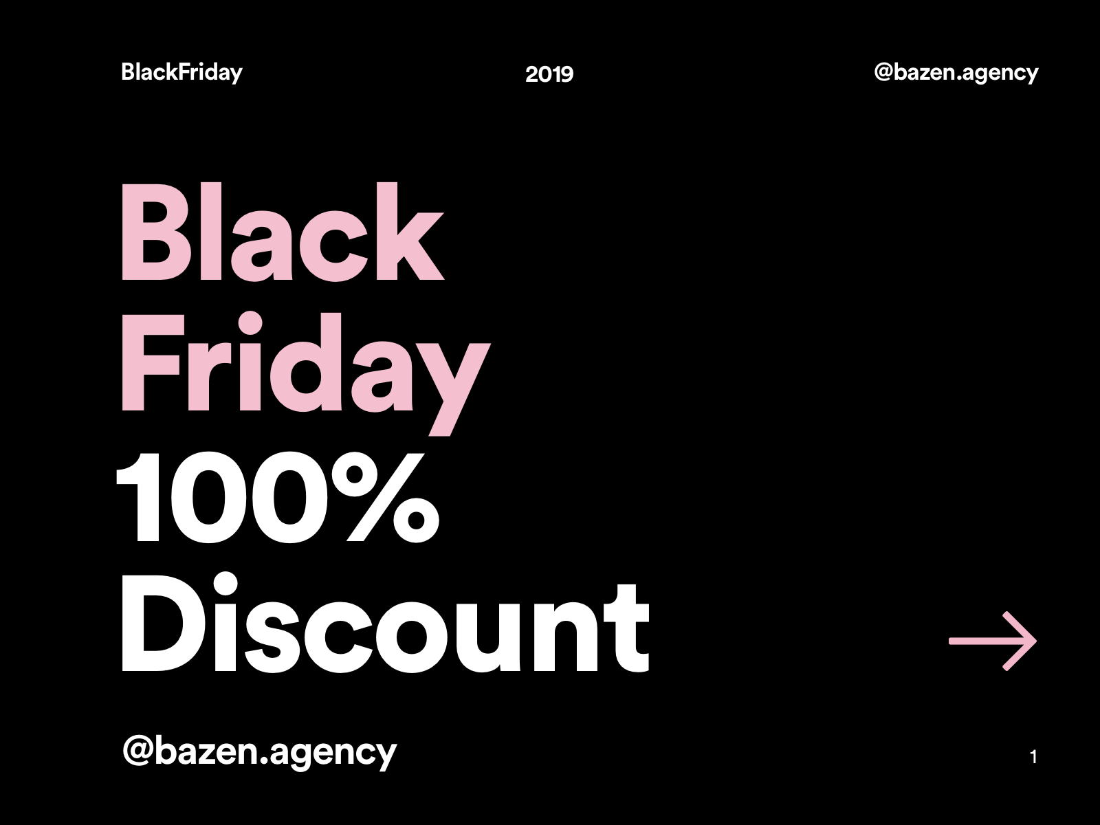 Black Friday 100 Discount By Bazen On Dribbble