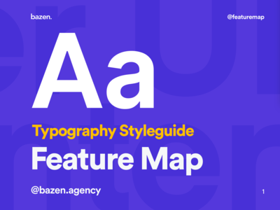 Feature Map - Style Guide