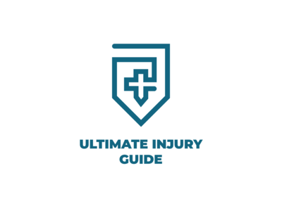Ultimate Injury Guide Logo Design