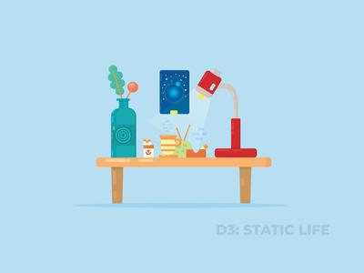 Day: 3/30 Static Life Illustration
