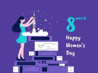 8march - international women's day