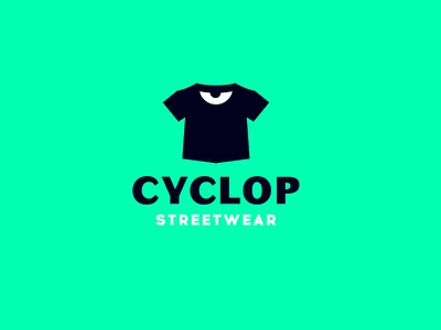 Cyclop streetwear character design russia mark logo minimal eye agressive bad angry cyclop merch streetwear street tshirt