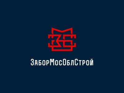 ЗМОС font kremlin mark logo russia monogram moscow fence