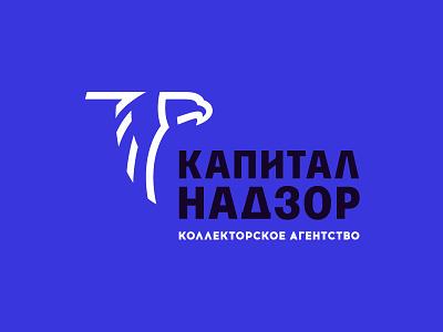 Eagle money monitoring supervision surveillance oneline design minimal mark russia logo bird predator capital eagle