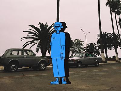 Lima, Peru poster peru layout photography travel illustration colorful design