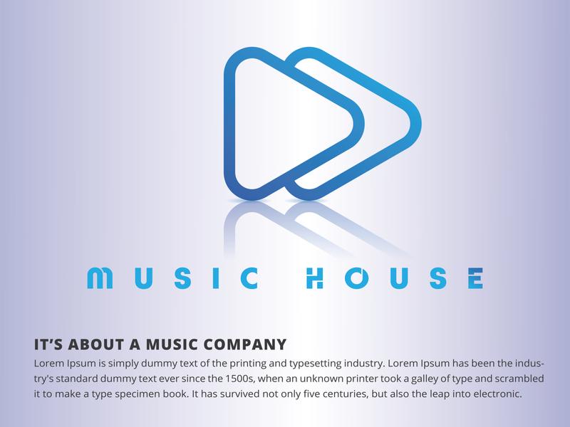 Music Brand Logo concept