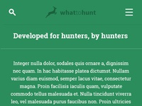 Whattohunt dribbble 4