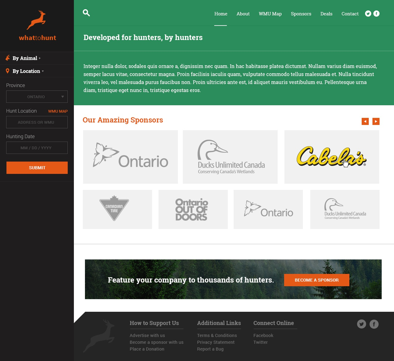 Whattohunt dribbble 3