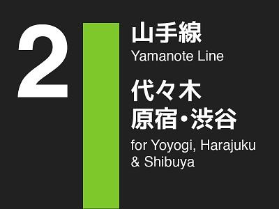 Tokyo Subway Signs travel subway tokyo japan