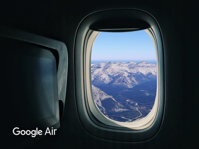✈️ Google Air travel interaction product concept google ux motion