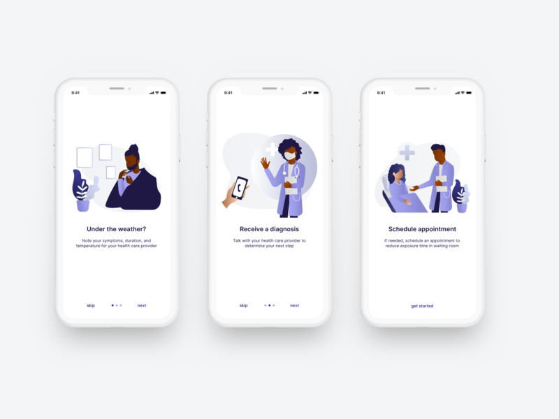 Daily ui 023 - Onboarding black illustrations medical onboarding daily ui 0023 daily ui