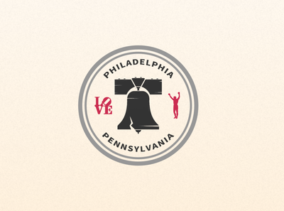 Weekly warmup - Passport stamp passport stamp love park liberty bell rocky pennsylvania philadelphia