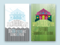 Poster for Cathedrals #3 & #4