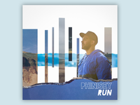 Artwork for the single, Run, by Phinisey